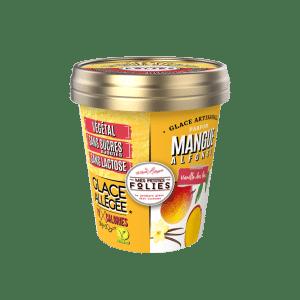 Glace Végétale, allégée en calories Mangue & soupcon de vanille