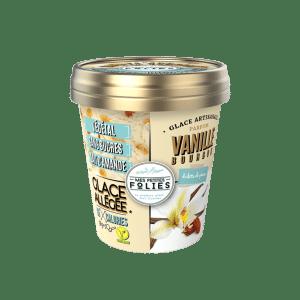 Glace Vegan, allégée en calories Vanille & Eclats de Pécan