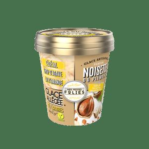 Glace Végétale, allégée en calories Noisette du Piémont