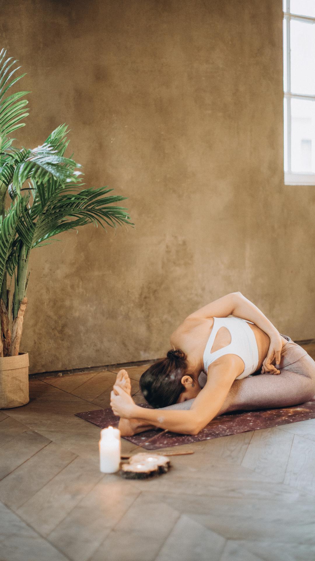 yoga demie pince énergie
