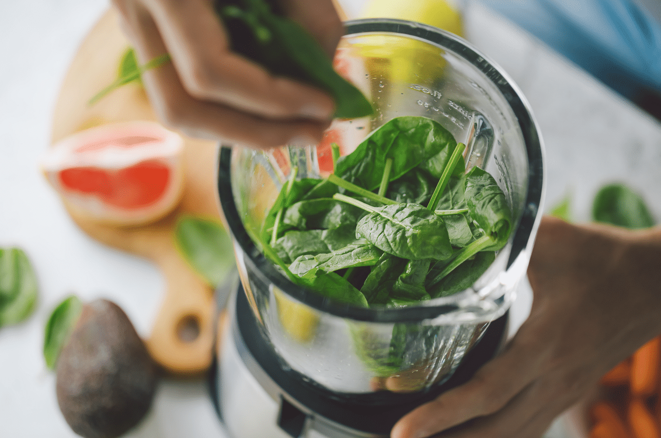 jus green detox épinards healthy food