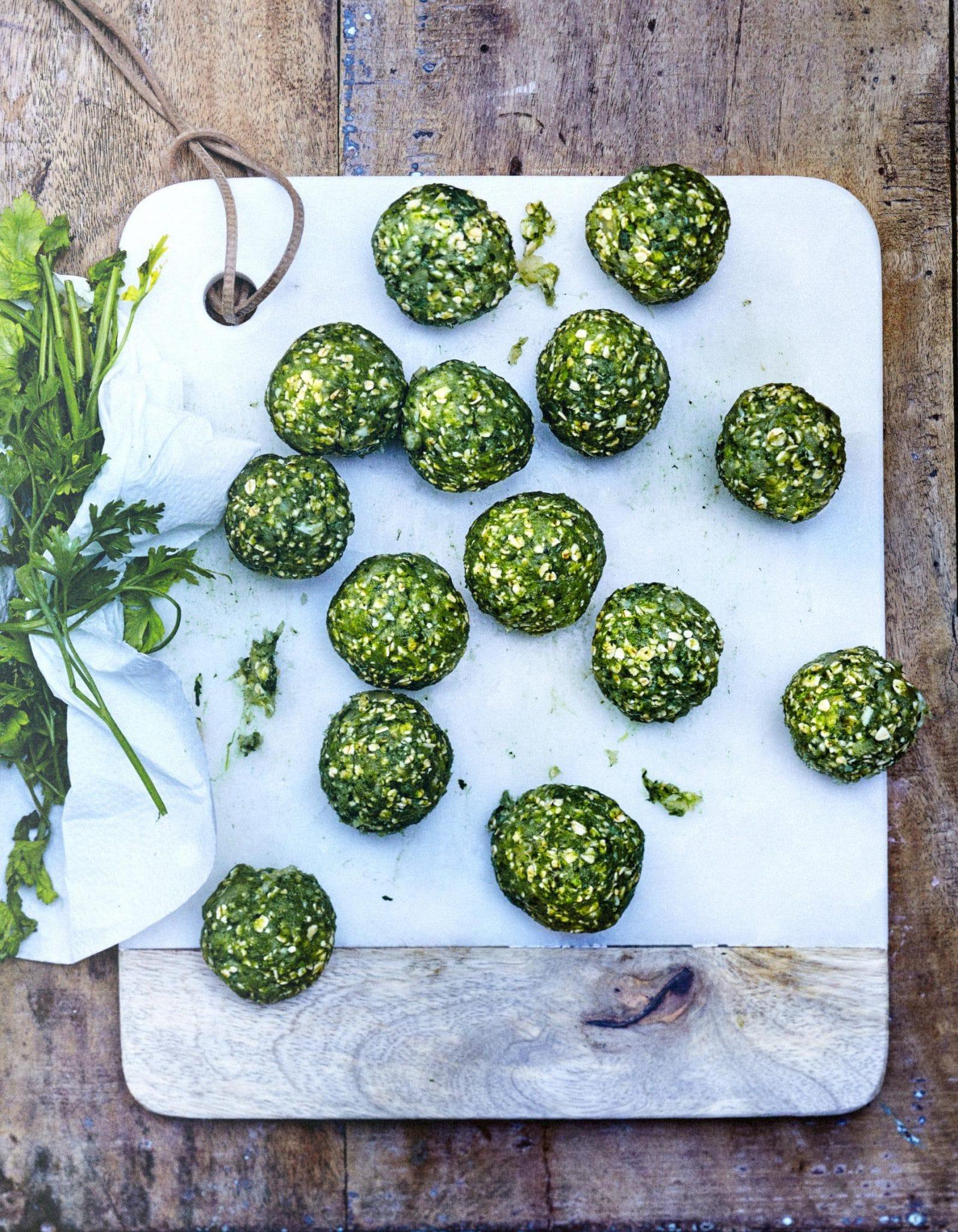 boulette vegan chou kale recettes faciles