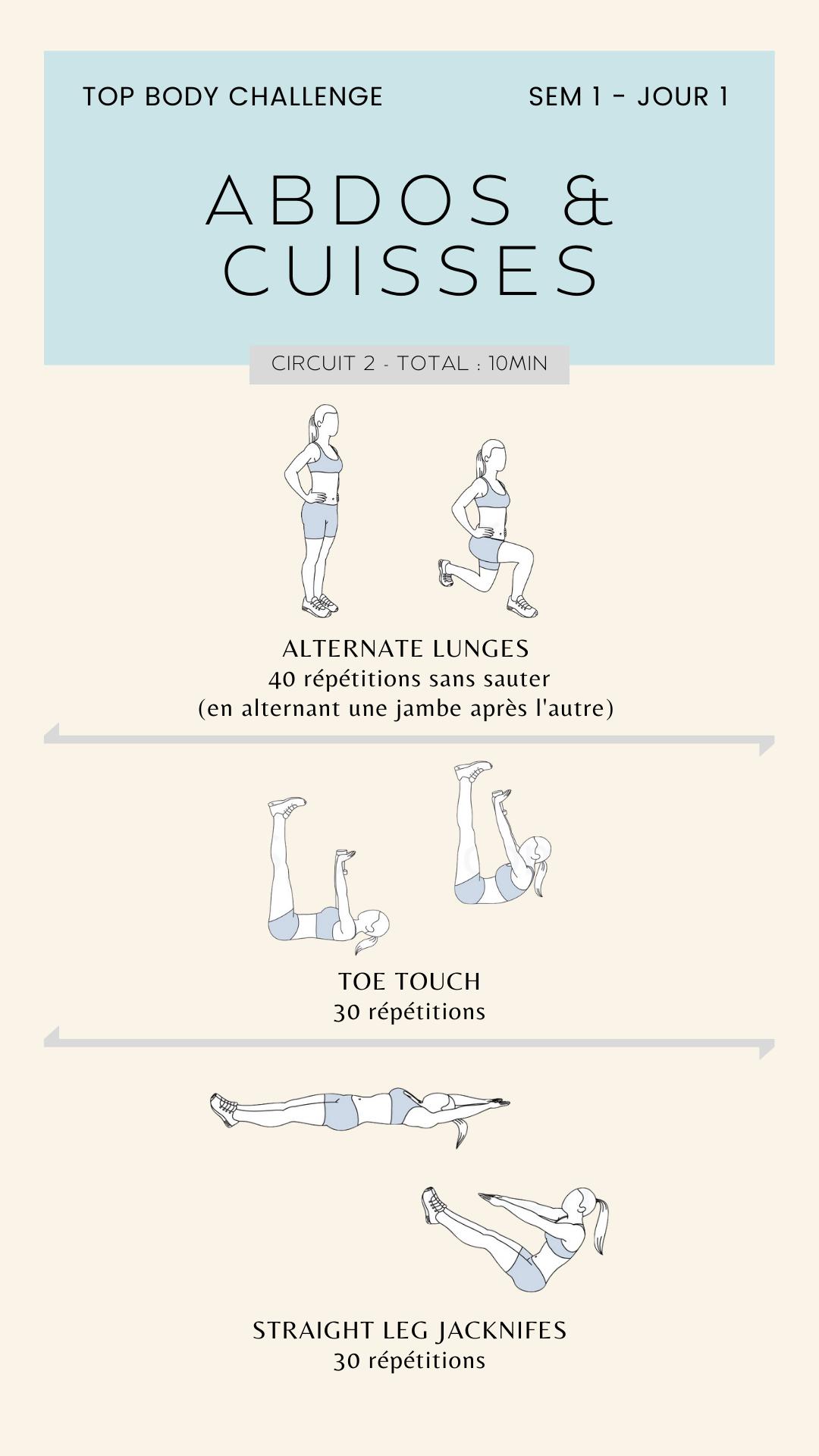 exercice tes semaine 1
